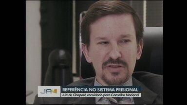 Juiz de Chapecó é convidado por ministro Sérgio Moro a integrar Conselho Nacional - Juiz de Chapecó é convidado por ministro Sérgio Moro a integrar Conselho Nacional