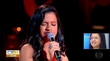 Heloísa é mais uma candidata do Cariri a passar para a próxima fase do The Voice Brasil - Saiba mais em g1.com.br/ce