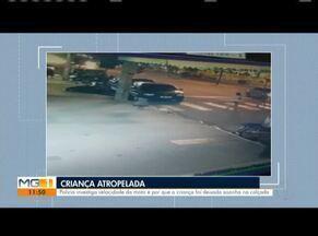 Polícia Civil investiga atropelamento de criança de três anos - Delegada quer saber se motociclista seguia na velocidade permitida e se ele respeitou semáforo.