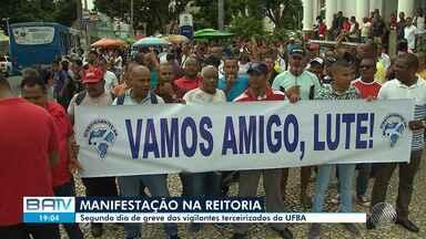 Destaques do dia: Em greve, vigilantes da Ufba fazem manifestação no Campo Grande - Confira este e outros destaques da quarta-feira (28).