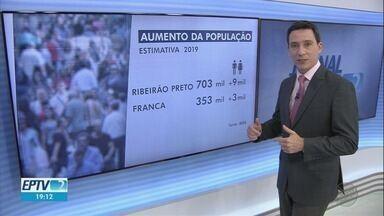 População brasileira aumentou de 2018 para 2019, diz IBGE - São 210 milhões no país inteiro.