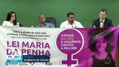Encontro discutiu os números da violência contra a mulher em Itatiaia - Reunião aconteceu devido a comemoração de 13 anos da Lei Maria da Penha.