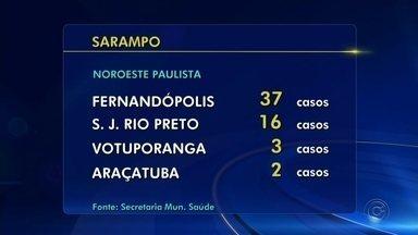 Número de casos de sarampo aumenta mais de 300% em apenas um mês no estado de São Paulo - O número de casos de sarampo aumentou mais de 300% em apenas um mês no estado de São Paulo.