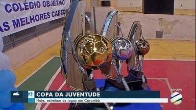 Copa da Juventude: Estreiam os jogos em Corumbá - Os jogos começam na noite desta quarta-feira na Cidade Branca.