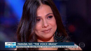 JPB2JP: Maria Kamila vence batalha do The Voice Brasil e avança de fase no programa - Representante da Paraíba.