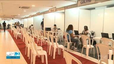 Balcão de renegociação de dívidas é realizado em São Luís - Dez empresas estão com stands físicos e mais de 100 estão online no evento.