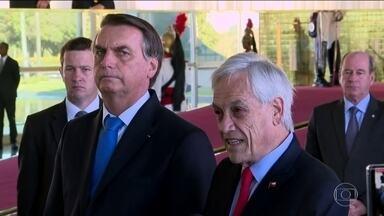 Chile oferece ajuda ao Brasil para combater queimadas da Amazônia - Presidente chileno, Sebastian Piñera, ofereceu quatro aviões especializados em combate a incêndios e defendeu a soberania dos países da Região Amazônica.