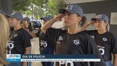 Rede Amazônica encara Dia de Polícia com simulação de conflitos no Bope do AP - Projeto foi realizado nesta quarta-feira (28).
