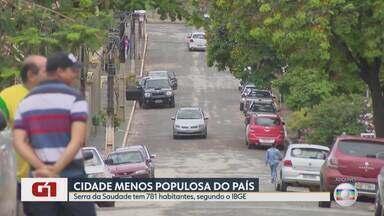 Serra da Saudade é a cidade menos populosa do Brasil, diz IBGE - De acordo com o IBGE, são 781 habitantes.