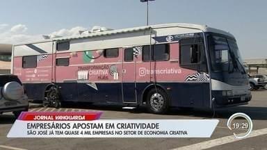 São José tem quase 4 mil empresas no setor de economia criativa - Eles apostam em soluções inusitadas.