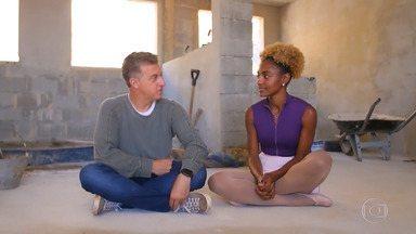 Programa de 31/08/2019 - 'Caldeirão do Huck' conta a história de bailarina do Complexo do Alemão