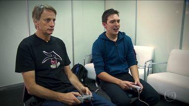"""""""Start"""" relembra lançamento de """"Tony Hawk's pro skater"""" e entrevista o cara que inspirou o game - """"Start"""" relembra lançamento de """"Tony Hawk's pro skater"""" e entrevista o cara que inspirou o game"""
