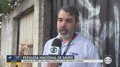 IBGE está fazendo levantamento de saúde em Minas Gerais - Pesquisa será feita em 6 mil casas