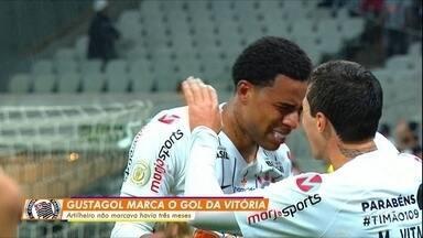 Corinthians vence Atlético-MG e sobe para o 3º lugar - Corinthians vence Atlético-MG e sobe para o 3º lugar