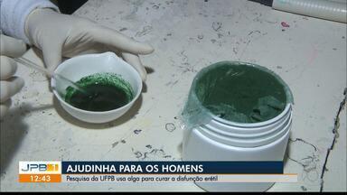 Impotência sexual pode ser tratada com alga, aponta pesquisa da UFPB - Constatação se deu por meio de testes em animais, como ratos. Medicamento deve ser preparado em farmácia de manipulação, com o intuito de testá-lo em homens adultos.