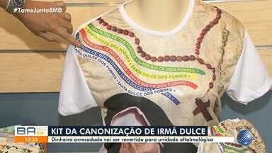OSID começa venda de kit para quem vai assistir a cerimônia de canonização de Irmã Dulce - Todo valor arrecadado será revertido para centro de oftalmologia das obras.
