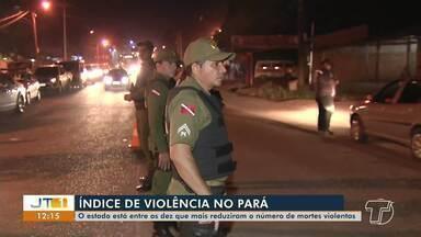 Número de mortes violentas têm redução no PA; operações integradas são intensificadas - Estado está entre os dez que mais reduziu o número de mortes em todo o país.