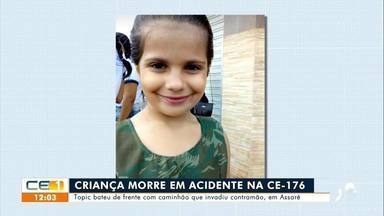 Criança de 7 anos morre em acidente em Assaré - Confira mais notícias em g1.globo.com/ce