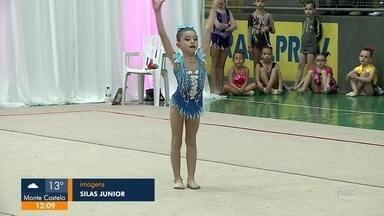 Joinville sedia campeonato de ginástica rítmica - Joinville sedia campeonato de ginástica rítmica