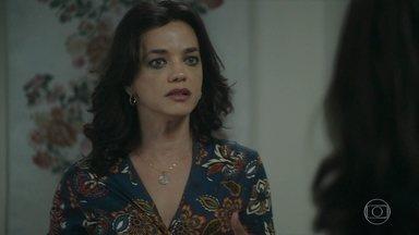 Missade se surpreende com a atitude heroica de Helena - Ela pede para ser avisada assim que puder receber visita para que possa agradecê-la pelo que fez