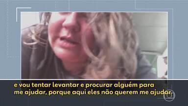 Cadeirante brasileira relata ter sido deixada caída ao chão em aeroporto na Alemanha - Ela mora em Dublin e voltava de uma visita a parentes no Sul de Minas.