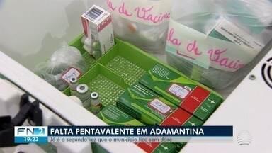 Postos de saúde de Adamantina voltam a ter falta de vacina pentavalente - Esta é a segunda vez que o município fica sem doses.