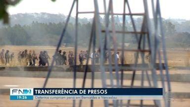 Transferência de presos movimenta o aeroporto de Presidente Prudente - Detentos assumiam papéis de liderança de facção em presídios.