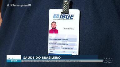Pesquisadores do IBGE começam a aplicar questionário em Palmas - Pesquisadores do IBGE começam a aplicar questionário em Palmas