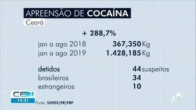 Cresce número de drogas apreendidas no Ceará - Confira mais notícias em g1.globo.com/ce