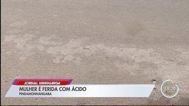Mulher de 30 anos é atacada com ácido em Pinda - Ataque foi no bairro Crispim.