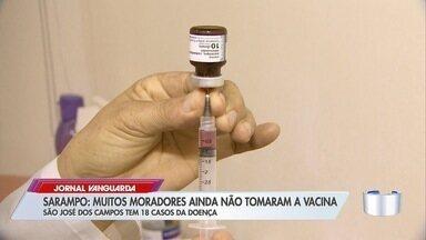 Região tem 59 casos confirmados de sarampo - Saiba quem tem que se vacinar.