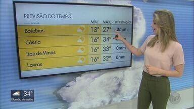 Confira a previsão do tempo para esta quarta-feira - Confira a previsão do tempo para esta quarta-feira