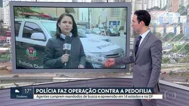Operação Luz na infância - Polícia Civil e Polícia Federal fazem ação contra a pedofilia