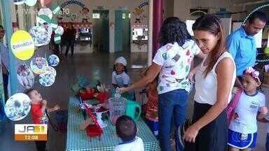 Feira em creche incentiva o interesse das crianças pela ciência - Feira em creche incentiva o interesse das crianças pela ciência
