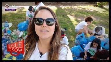 Bárbara Lima limpa ruas e praias de Pernambuco - Você vai conhecer a nossa quarta personagem da série #Engajadxs. A Bárbara Lima criou o projeto Pernambuco sem Lixo. Ela e um grupo de voluntários percorrem ruas e praias para limpar a sujeira e conscientizar as pessoas.