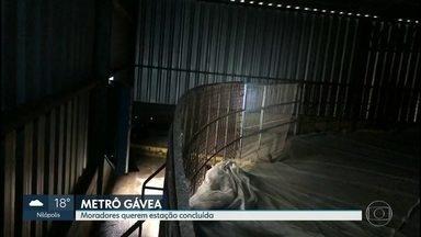 O carioca foi surpreendido pela notícia de que a estação do Metrô da Gávea será aterrada - De acordo com o governador Wilson Witzel não há dinheiro para continuar a obra. deputados, morades e especialistas contestam.