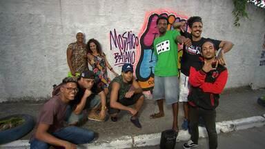 Em São Caetano, Maria Menezes conhece uma galera que fomenta o grafite e rap - Em São Caetano, Maria Menezes conhece uma galera que fomenta o grafite e rap