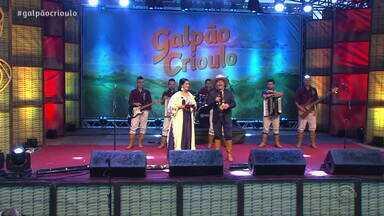 Reveja o primeiro bloco do Galpão Crioulo - Assista ao vídeo.