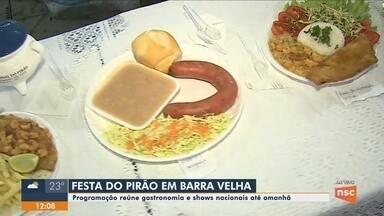 Festa do Pirão em Barra Velha tem shows nacionais e gastronomia - Festa do Pirão em Barra Velha tem shows nacionais e gastronomia