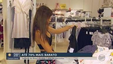 'Semana do Brasil' promete aquecer o mercado com descontos - 'Semana do Brasil' promete aquecer o mercado com descontos