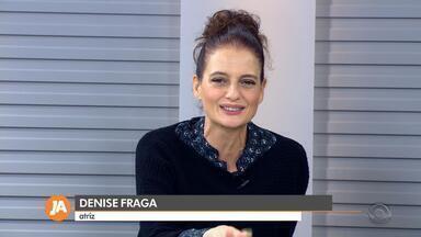 Denise Fraga estreia 'Eu de você' no Theatro São Pedro nesta sexta-feira - Roteiro é baseado em histórias reais, a partir de cartas do público. Apresentações seguem até domingo.