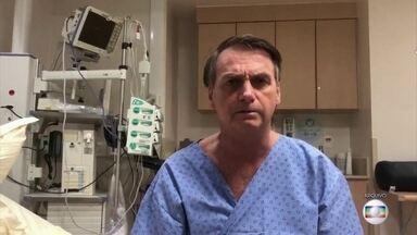 Presidente Jair Bolsonaro passa por nova cirurgia neste domingo (8) em São Paulo - O diagnóstico é de uma hérnia incisional. Essa cirurgia é considerada de complexidade média, mas de risco mínimo.