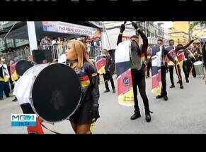 Moradores comemoraram 116 anos de Teofilo Otoni - Desfile e aniversário da cidade fazem a alegria dos moradores.
