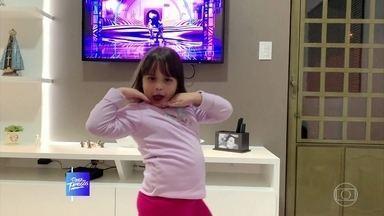 A criançada entra no ritmo da Dança dos Famosos - Confira