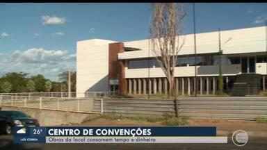 Obra do Centro de Convenções de Teresina se arrastam e pode ser concluída com PPP - Obra do Centro de Convenções de Teresina se arrastam e pode ser concluída com PPP