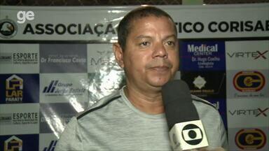 """Valdomiro Ferreira comanda primeiro amistoso e avalia o Cori-Sabbá: """"Tem que qualificar"""" - Valdomiro Ferreira comanda primeiro amistoso e avalia o Cori-Sabbá: """"Tem que qualificar"""""""
