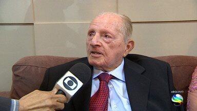 Ex-deputado Rosendo Ribeiro é velado em Aracaju - Ele morreu na madrugada do domingo (8) aos 91 anos.