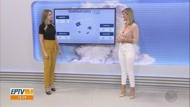 Veja a previsão do tempo para esta segunda-feira (9) na região de Ribeirão Preto - Semana deve ser de calor intenso.