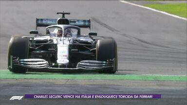 Charles Leclerc vence na Itália e enlouquece torcida da Ferrari - Charles Leclerc vence na Itália e enlouquece torcida da Ferrari