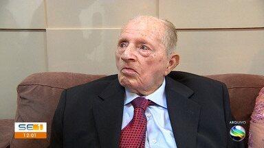 Ex-deputado Rosendo Ribeiro morre aos 91 anos em Aracaju - Ex-deputado Rosendo Ribeiro morre aos 91 anos em Aracaju.